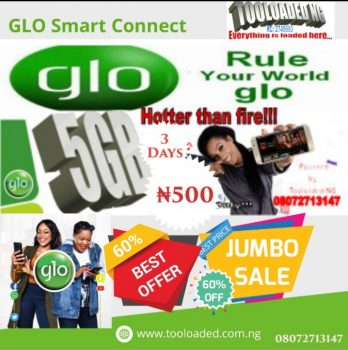 Get 5GB FOR JUST ₦500!!!